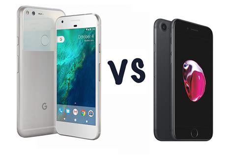 pixel vs apple iphone 7 tutte le differenze e similitudini