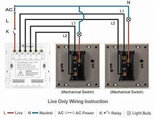 Smart 3-way Switch - Socket 86 - 2 Gang - Smart Home