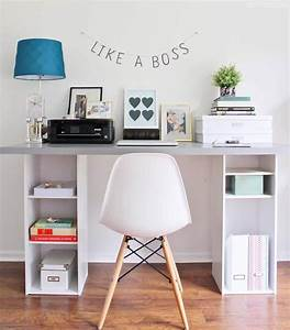 25, , best, diy, desk, ideas, and, designs, for, 2021