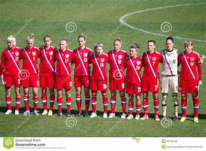 Russia Womens National Soccer Team Editorial Photo - Image ...