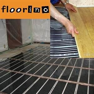 Fußbodenheizung Elektrisch Laminat : infrarot fl chenheizung floorino fu bodenheizung 6 m heizen heizfolie elektrisch ~ Yasmunasinghe.com Haus und Dekorationen