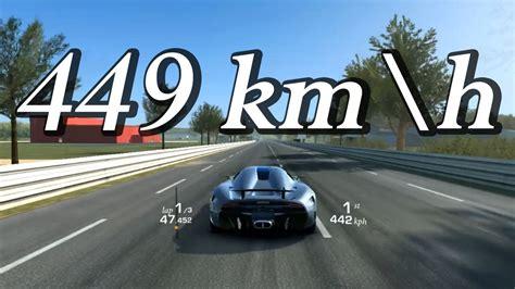 Real Racing 3 Koenigsegg Regera Top Speed 449 Kmh 280