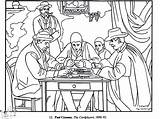 Cezanne Paul Players Coloring Adult Adults Impressionist Children Printable Simple Drawings Masterpieces Paintings Impressionism Painting Justcolor Coloriage Famous sketch template