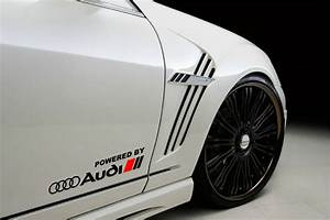 S Line Emblem : powered by audi racing sport s line decal sticker emblem ~ Jslefanu.com Haus und Dekorationen