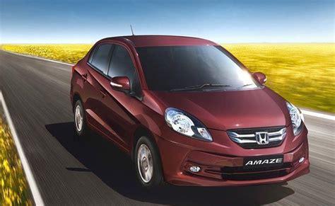 Honda Amaze Launches In Mumbai- Check Price List