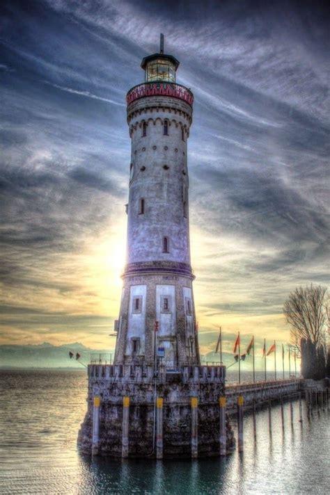 beautiful lighthouses   world lindau lighthouse