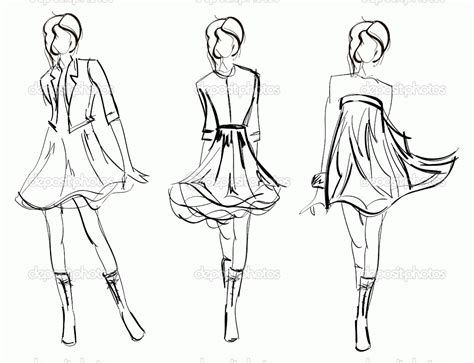 stylish page free printable fashion coloring pages for adults