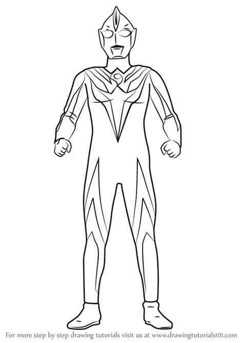 learn   draw ultraman cosmos ultraman step  step drawing tutorials