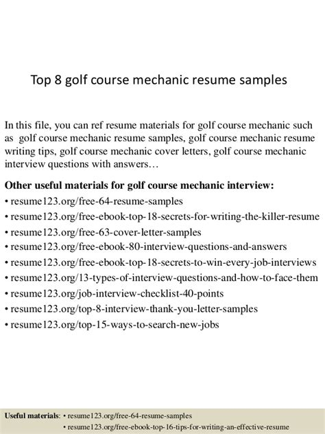 top 8 heavy duty diesel mechanic resume sles
