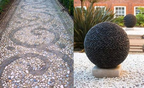 decorative stones for garden 15 decorative garden landscaping ideas houz buzz