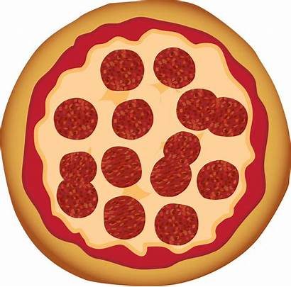 Pizza Pepperoni Clip Clipart Svg Vector Sign