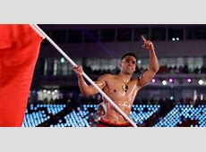 Tonga's shirtless Olympian Pita Taufatofua learned skiing