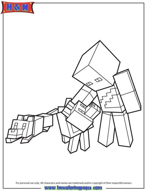 green steve minecraft coloring page jackson county ohio