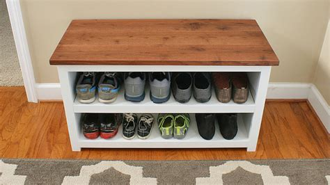 small shoe rack shoe storage diy projects for small spaces decorating