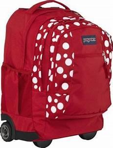 Jansport Driver 8 Wheeled Backpack Backpacks Eru