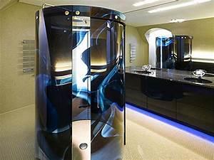 Futuristic Interior of IT Entrepreneur's Home - Villa F by ...