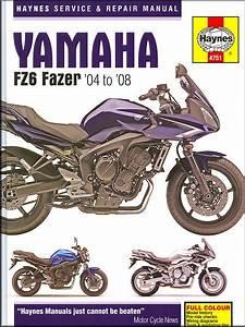 Yamaha Fz6 Fazer 600 Repair Manual 2004