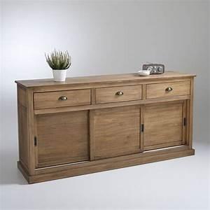 buffet 3 portes 3 tiroirs pin massif lunja pin massif With superb photos de meubles de salon 0 meuble bois massif salon et sejour buffet enfilade bahut