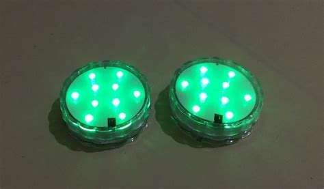 Battery Powered Underwater Boat Lights by Sparkles 4 Pack Ip68 10 Led S Underwater Light Battery Powered