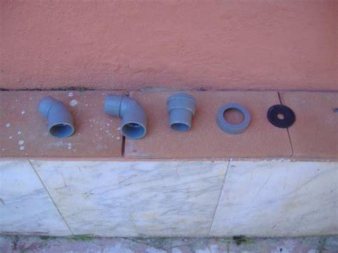 bidè o bidet bagni wc tubazioni di scarico dei singoli apparecchi