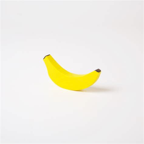 Erzi Wooden Fruit  Small Banana  Conscious Craft