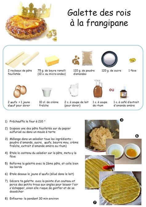 histoire des recettes de cuisine recette la galette des rois en route avec jésus