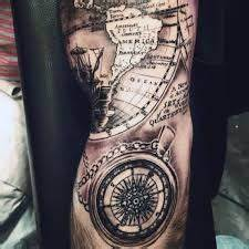Vintage world map tattoo www pixshark com images galleries with a bite old world map compass tattoo www pixshark com images galleries with a bite gumiabroncs Choice Image