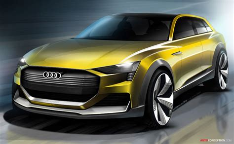 New 'htron Quattro' Concept Previews Future Audi