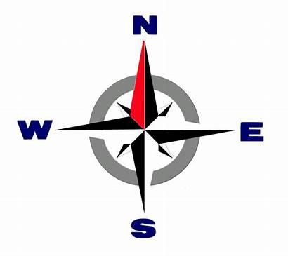 Compass Transparent Rose North Icon Rustic Arrow