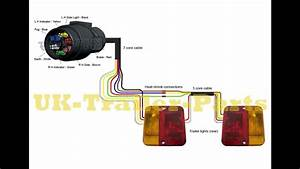 Trailer Plug Wiring Diagram Round