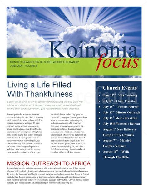sun rays church newsletter
