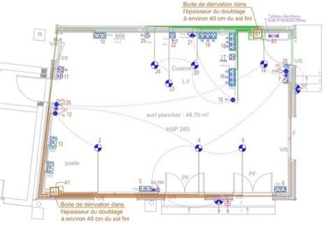 plan electrique chambre extension en bois yvelines installation électrique