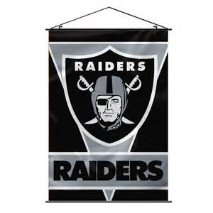 Nfl Bedroom by Oakland Raiders Wall Banner