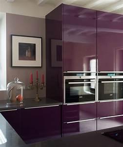Cuisine Couleur Aubergine : cuisine prune 2365 2829 cuisine pinterest ~ Premium-room.com Idées de Décoration