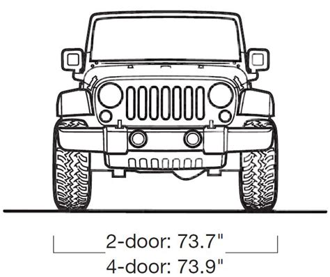 jeep front drawing jeep wrangler 2008 smcars net car blueprints forum