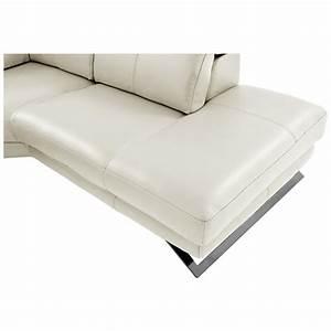 toronto white power motion leather sofa w right chaise With white leather sectional sofa toronto