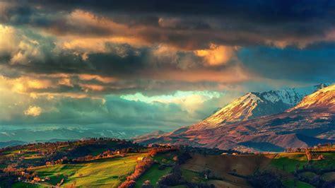 Mountain Landscape Wallpaper Hd