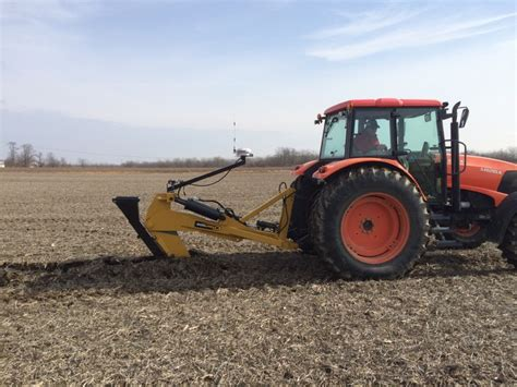 gold digger tile plow soil max gold digger agricultural drainage