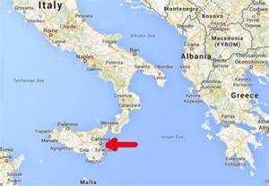 Catania Sicily Italy Map