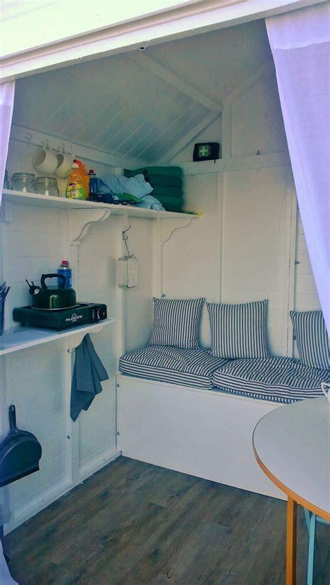 beach hut interior ideas  pinterest beach hut