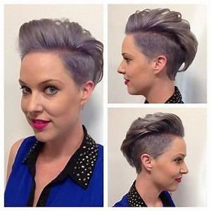 Coiffure Simple Femme : coupes courtes femme tendance 2017 coiffure simple et facile ~ Melissatoandfro.com Idées de Décoration