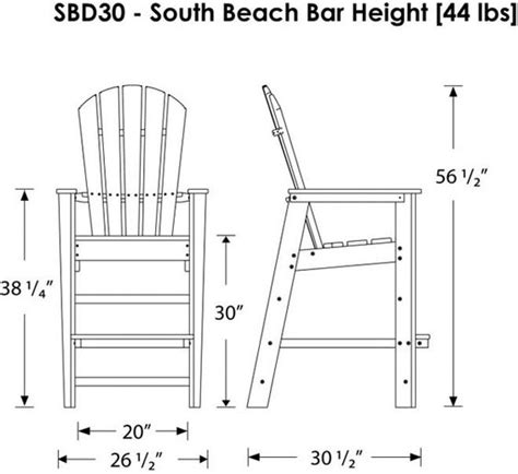 plans for bar height adirondack search diy home