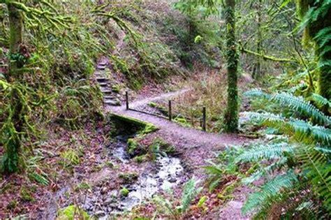 linnton loop hike hiking  portland oregon  washington