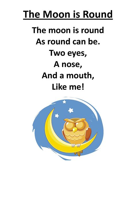 itty bitty babies rhyme the moon is itty 612 | 9313c78ce040d27e272578d18d306663
