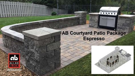 Espresso R Package by Ab Courtyard Patio Package Espresso