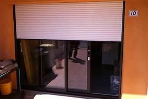 Volet Roulant Porte Fenetre : porte fenetre baie coulissante avec volet roulant gma ~ Dailycaller-alerts.com Idées de Décoration