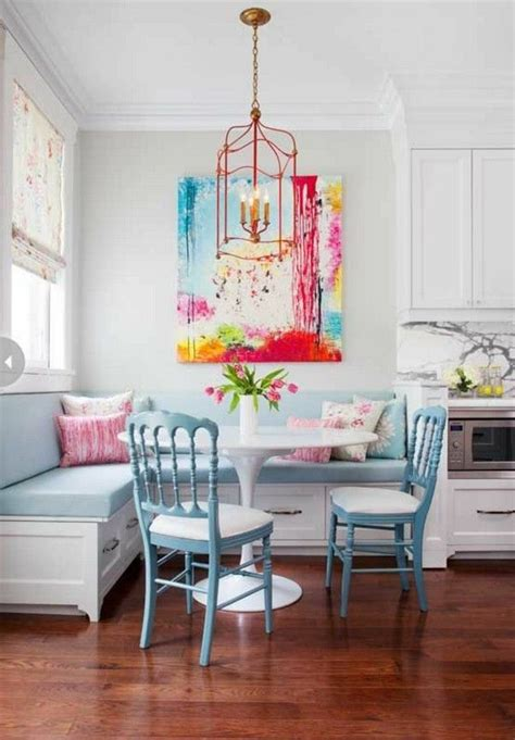 cute kitchen breakfast nook pictures   images