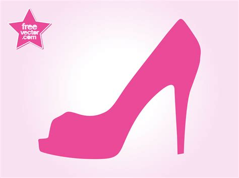 High Heel Clip Footprint Clipart High Heel Pencil And In Color