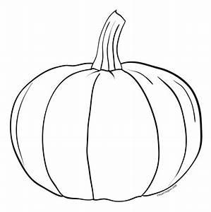 Pumpkin Clipart Black And White - Clipartion.com