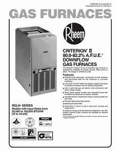 Rheem 07eauer User Manual
